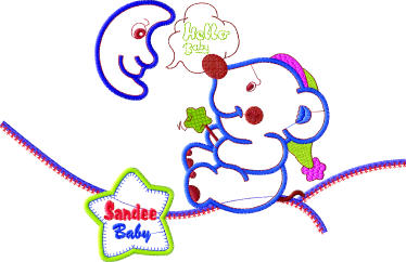 embroidery baby designs