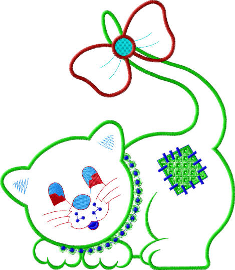Embroidery baby designs stars